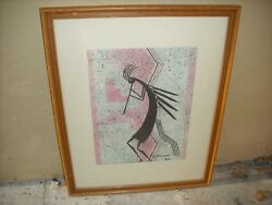 Albuquerque New Mexico Painting Of Kokopilli By Fred Cleveland