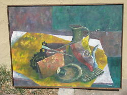 New Mexico Albuquerque Still Life Painting Todd Tibbals Listed