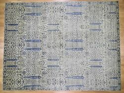 12'x15'6 Oversized Willow And Cypress Tree Design HandKnotted Rug G45508
