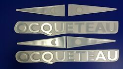 Ocqueteau Boats Emblem 22 + Free Fast Delivery Dhl Express- Sticker Decal