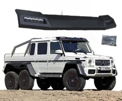 Mercedes Benz G-class W463 Brabus Front Roof Spoiler With Led