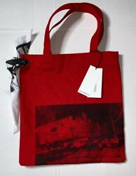 Brand New- Limited Calvin Klein X Andy Warhol 205w39nyc Canvas Tote Raf Simons