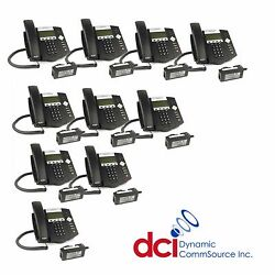 Refurbished 10 Pack Polycom Soundpoint Ip 450 Telephones W/power Free Ship