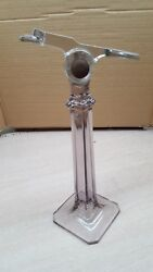 Antique Vintage 1914 Shoe Store Display Stand Glass General Store
