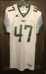 Nwt Colorado State Jersey 47 Russell Mens Lg Spandex Style X-long Stitched