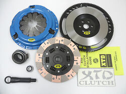 Xtd Extreme Stage 4 Dual Friction Clutch And Flywheel Kit 1990-1991 Civic Crx Sohc