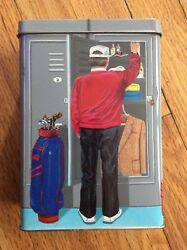Vtg. 1987, The Silver Crane Co., Golf Tin, New W/ All Contents, Sears, England