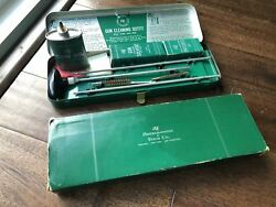 Vintage Abercrombie And Fitch 22 Cal Gun Cleaning Kit Outfit Original Rare Oil Can