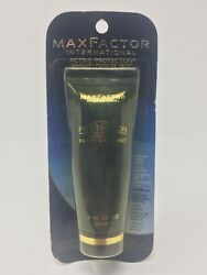 Vintage Max Factor Active Protection Makeup 401 Warm Ivory Cool 1 Sealed