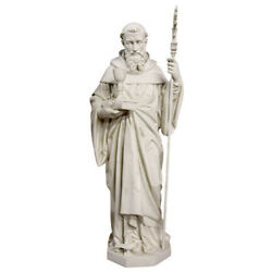 Indoor/outdoor Catholic Church St Benedict Statue 68 - Free Shipping