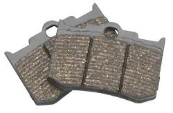 Lyndall Brakes Gold Plus Racing Brake Pads For V-twin 7182-gplus