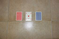 Fendi Monogram Playing Cards Poker Burraco Canasta X3 Made In Italy, The Rarest