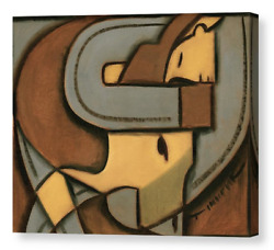 Abstract Western Steer Wrestling Rodeo Wall Art For Sale By Artist Tommervik