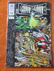 DEATHMATE BLACK COMIC signed Mark Silvestri Brandon Peterson others 1st Gen13