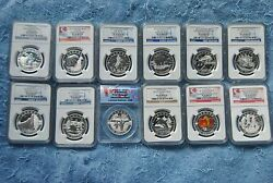 2013, Ngc, 10, O Canada Set, 11 Are Pf70 Matte, Most Early/first Releases