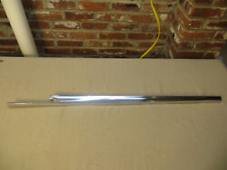 1959 1960 Cadillac Coupe Fin Trim Belt Line Passenger Right Side