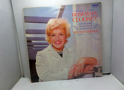 Rosemary Clooney With Orchestra Nelson Riddle Rca Ints5057 Lps Vinyl