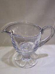 Rare Lalique France Crystal Valencay Water Pitcher