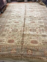 10and039 X 15and0396 Romanian Agra Oriental Rug - Hand Made - 100 Wool
