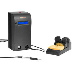 Metcal Mx-5220 Dual Port Soldering System 80w W/ Mx-ps5200 Mx-h2-uf