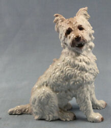 westie west highland terrier dogfigurine dog porcelain Rosenthal figurine 1930