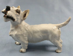 west highland terrier porcelain Rosenthal dog figurine porcelainfigurine  1948