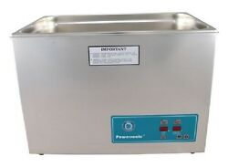 New Crest Powersonic P2600d 45khz 7 Gallon Ultrasonic Heated Cleaner And Basket