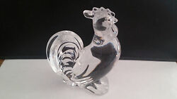 Baccarat Crystal Zodiac - Rooster Figurines