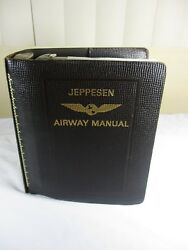 Jeppesen Airplane Airway Pilot Manual Chartsmapsterminal Notamsradar 1970and039s
