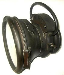 Early Atwood Model 59 Brass Carbide Headlamp Model T Ford Buick Winton Rambler