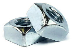Zinc Plated Grade 2 Steel Square Nuts - Four-sided Nuts - Coarse - Select Size
