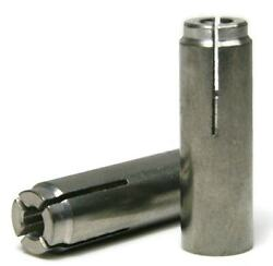 Stainless Steel Concrete & Stone Drop In Female Expansion Anchors - Select Size