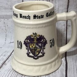 Long Beach State Class 1959 Large Beer Stien Tony
