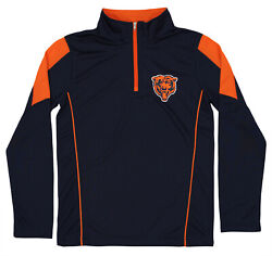 Outerstuff Youth NFL Chicago Bears Lightweight 14 Zip Pullover