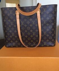 Nearly Flawlessauthentic Louis Vuitton Monogram Luco Tote - M51155