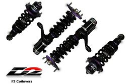 D2 Racing Rs Coilovers Adjustable Suspension New Set For 02-04 05-06 Rsx D-ac-11
