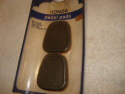 Pair Of Nos Honda Pedal Pads For All Civics 1970-on W/manual Trans
