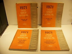 1971 Ford Truck Shop Manuals Chassis Engine Body And Electrical Maint And Lube 1st