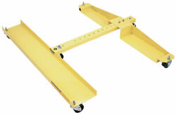Snow Plow Cart, Plow Dolly, Quick Mount Plow Cart For Western Snow Plow