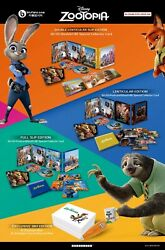 Zootopia 3D/2D (Blu-ray, Blufans Exclusive SteelBook, BE 035, One-Click Edition)