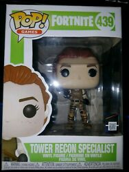 Funko Pop Fortnite Tower Recon Specialist Rare Defect Double Serial Number