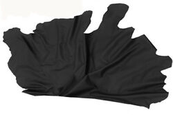 Real Skin Cowhide For Decor Sqm 25 Approx Thickness 09 -0 1/32in Black Colour