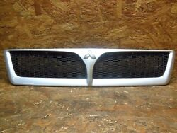 2000 2003 JDM MITSUBISHI LANCER CEDIA GDI CS2 CS5W SILVER FRONT GRILL GRILLE OEM