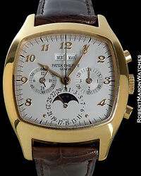 PATEK PHILIPPE 5020R PERPETUAL CALENDAR CHRONOGRAPH BOX BEYER PAPERS 18K ROSE