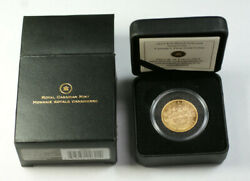 1914 Canada 10 Dollar Gold Coin Bu Unc From Mint W/ Box And Papers