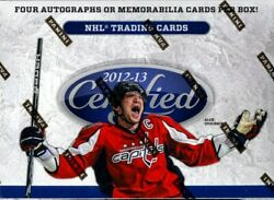 2012/13 Panini Certified Hockey Hobby 8 Box Case Blowout Cards
