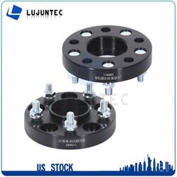 2pcs 5x114.3 Wheel Spacers | 67.1mm Hub And Wheel Centric 1 Inch | 12x1.5 Studs