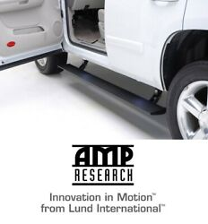 Amp Research Plug-n-play Running Board Power Steps For 2019-2021 Dodge Ram 1500