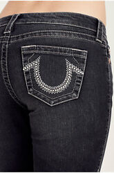 True Religion Womenand039s Bootcut Stud Logo Stretch Jeans In Years Away