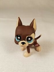 Littlest Pet Shop Dog Great Dane Dot Eyes 817 Lps